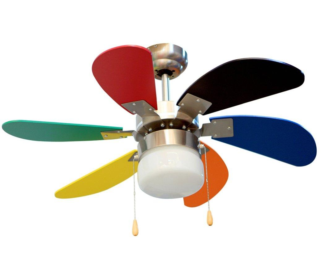 Gu a para elegir los mejores ventiladores de techo baratos compraralia - Ventiladores techo infantiles ...